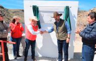 Inaugura Gobernador Tello presa