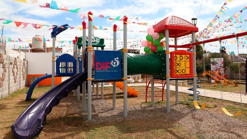 Con parque inclusivo promueve SEDIF la sana convivencia entre niñas y niños