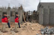 Registra 55% de avance Casa de Seguridad en Pánuco