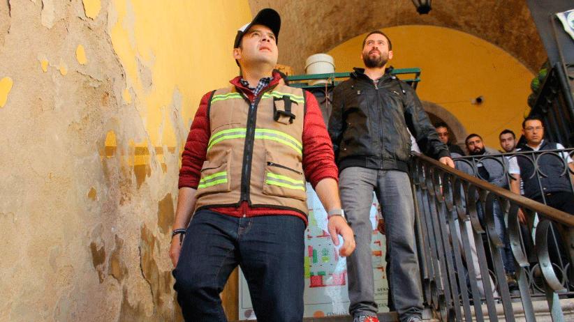 Mejoramos nuestros Mercados tradicionales con mantenimiento permanente: Ulises Mejía Haro
