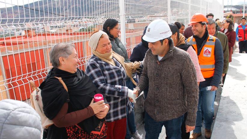 Más de 40 obras por espacios dignos para las familias: Ulises Mejía Haro