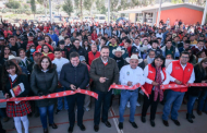 Cumple Tello con Villa Hidalgo y entrega acciones de desarrollo social