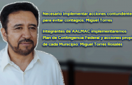 Video: Necesario implementar acciones más contundentes para evitar contagios: Miguel Torres Rosales