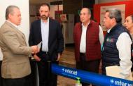 Se refuerzan medidas de prevención sanitaria en Aeropuerto y Central de Autobuses de Zacatecas