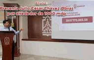 EN VIVO| Presenta Julio César Chávez Obras por alrededor de 1000 mdp