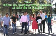 Video: Miles de zacatecanos celebran el Día de la Familia