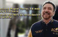 Video: Gestiona Miguel Torres 3.8 millones para Villanueva
