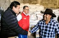 SECAMPO entrega apoyos a productores y ganaderos de Susticacán y Enrique Estrada