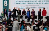 EN VIVO | Día Internacional de la Mujer y Programas del Bienestar, desde Fresnillo, Zacatecas