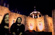 Inician trabajos de iluminación de la Parroquia Santa María Magdalena.