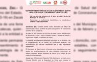 Confirma Secretaría de salud de Zacatecas quinto caso positivo de coronavirus en la entidad