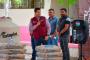 Entrega Julio César Chávez material  del Programa Mejorando tu escuela