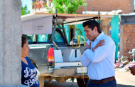 La prioridad es que los guadalupenses tengan agua: Julio César Chávez al entregar red hidráulica