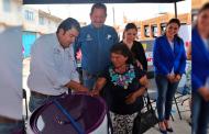 Gracias a UNE infraestructura social,familias de Monte Escobedo y Jerez cuentan con servicios básicos