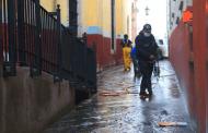 Intensifican sanitización de mercados y espacios públicos