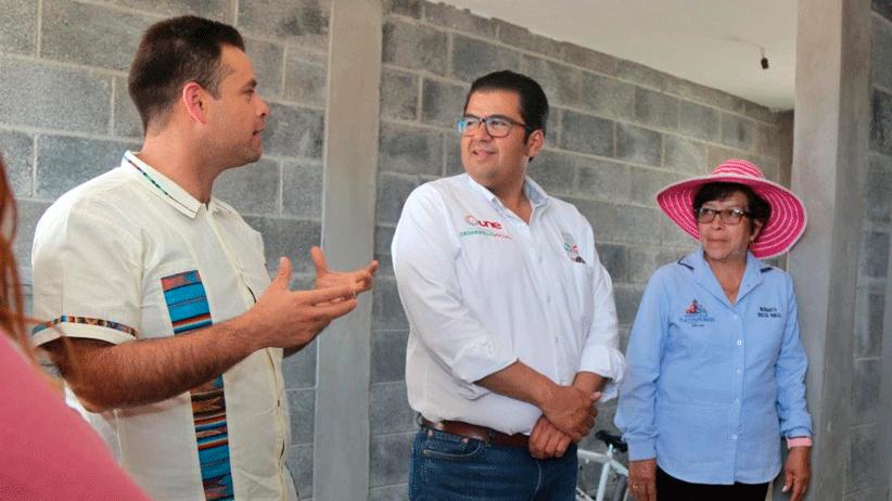 SEDESOL beneficia a población de  Tlaltenango con servicios básicos de la vivienda