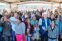 Familias de escasos recursos de Mazapil reciben apoyos sociales de UNE