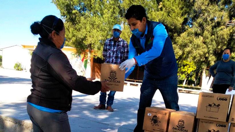 Con amplia red interinstitucional, Gobierno de Tello distribuye más de 13 mil despensas en el Estado.