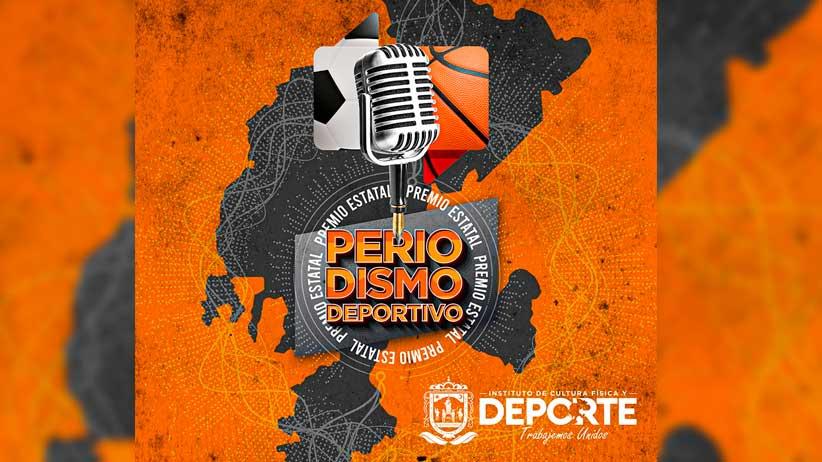 Se aplaza recepción de trabajos  de Premio Estatal de Periodismo Deportivo Zacatecas 2020.