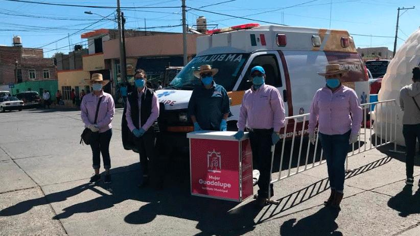 No están solas: Julio César Chávez a las mujeres guadalupenses.