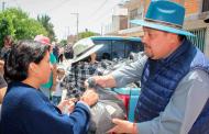 Con 4 mil 500 despensas y kits de limpieza apoyan a habitantes de Luis Moya.