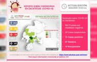Alcanza Zacatecas 10 pacientes de Coronavirus clínicamente recuperados.