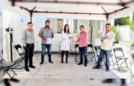Dirigentes Priistas entregan apoyos sociales ante contingencia.