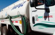 Con operativo de abastecimiento  de agua potable se han distribuido 12 millones 730 mil litros en Municipios.