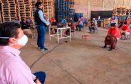 Brigadas de salud, seguridad y campo capacitan a Jornaleros Agrícolas y estrechan vigilancia epidemiológica.