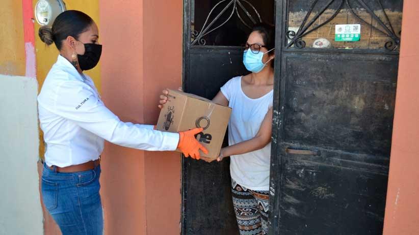 Se benefician 500 familias Villanovenses con el Programa Emergente de Apoyos Alimentarios.