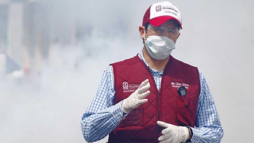 Emprende Julio César Chávez más de 30 mil acciones ante la pandemia por Covid-19.