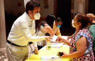 Reafirma Miguel Torres su compromiso con familias Villanovenses afectadas por contingencia sanitaria.