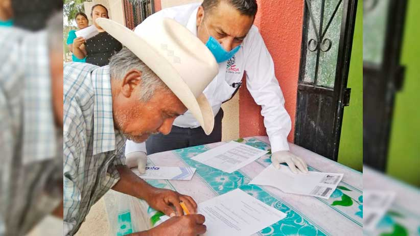 Entrega SEDESOL más de 3 mil apoyos emergentes a municipios del norte del Estado.