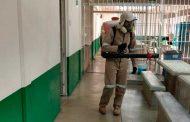 Secretaría de salud de Zacatecas continúa labores de  sanitización en diversos municipios.