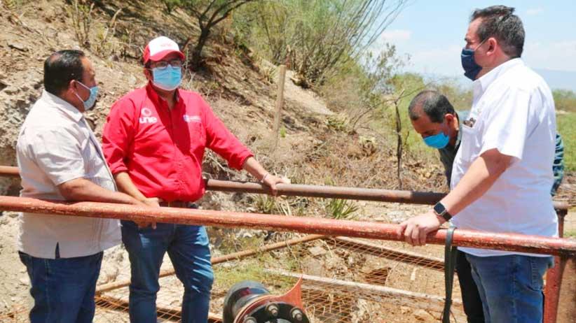 Entrega Gobierno Estatal apoyos alimentarios en el semidesierto zacatecano.