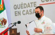 Anuncia Tello lineamientos sanitarios para iniciar fase de Nueva Realidad en Zacatecas.