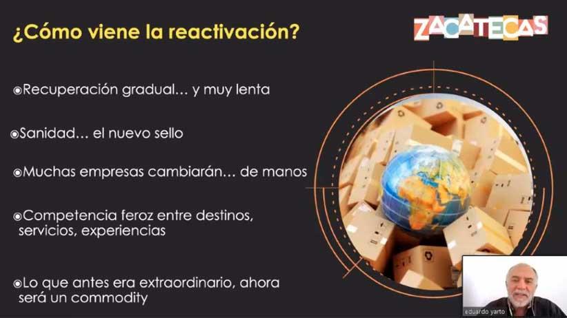 Turismo regional y carretero, áreas de oportunidades para reactivar Zacatecas.