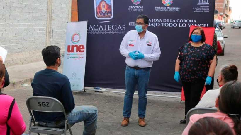 Lleva Gobierno de Tello Programa Empleo Temporal a colonos de la Lázaro Cárdenas.
