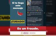 Gobierno de México trabaja para desarticular redes que engañan a la ciudadanía con falsos apoyos sociales.