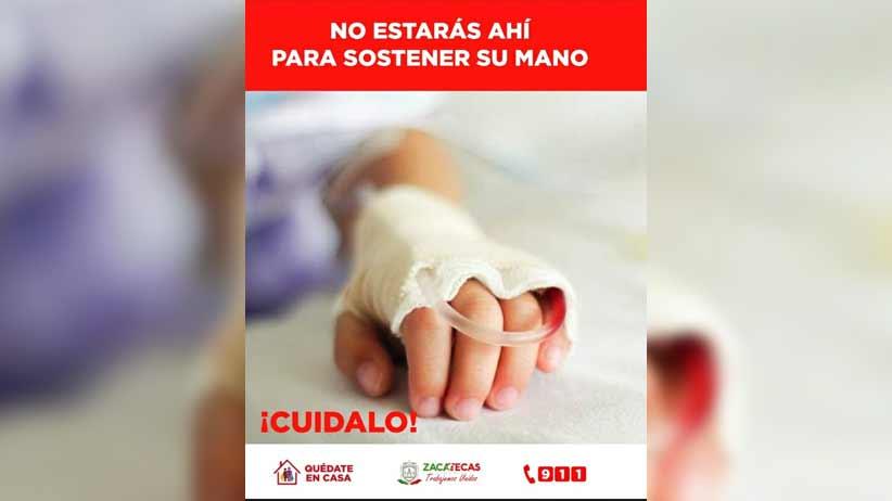 Registra Zacatecas este día 35 nuevos casos positivos de Coronavirus y llega a 477 en total