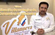 Video: Situación de contagios de Coronavirus en Villanueva.