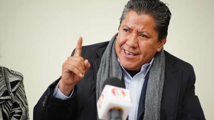 Ulises Mejía Haro 40 puntos por debajo de David Monreal según la última encuesta