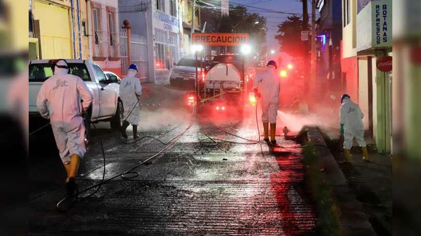 La OMS advirtió que rociar las calles con desinfectante es peligroso y poco eficaz en la lucha contra el Coronavirus.