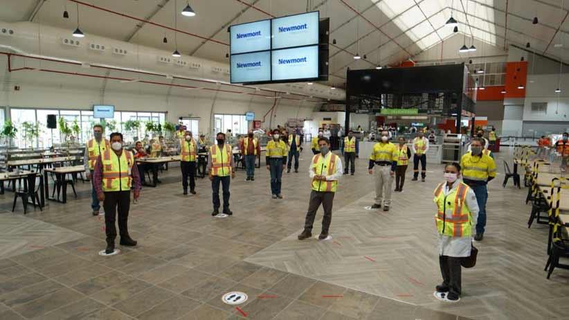 Funcionarios del Gobierno Federal, Estatal y Municipal e integrantes del Sindicato Minero acuden al reinicio de operaciones de Peñasquito