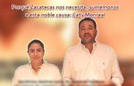 Video: Porqué Zacatecas nos necesita, sumémonos a esta noble causa: Caty Monreal.