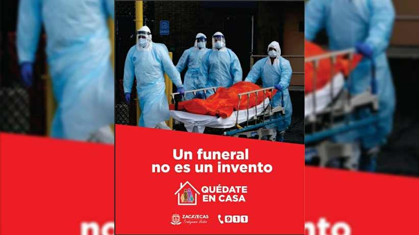 16 nuevos casos positivos de Coronavirus en Zacatecas.