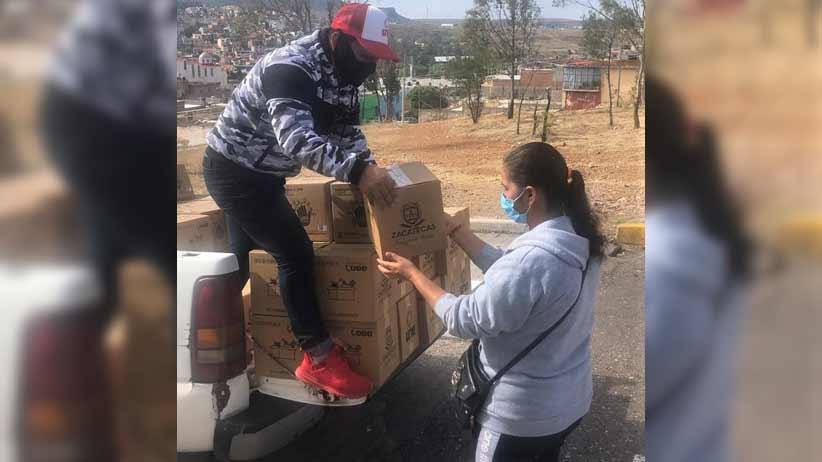 Continua la entrega de Apoyos Alimentarios a 54 municipios.