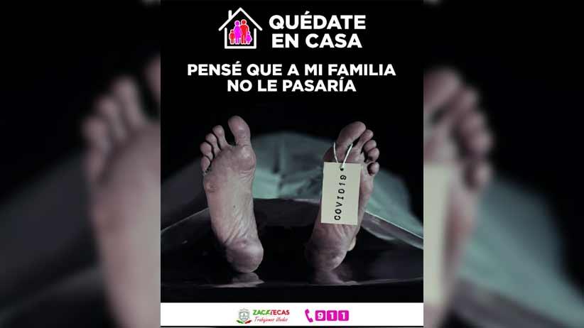Hay otros cinco casos positivos de Coronavirus en Zacatecas; son ya 195 en total.
