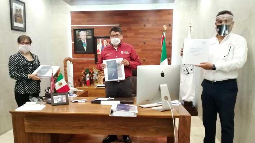 Cumple Gobierno de Tello a Fresnillo con entrega de estudio y proyecto del nuevo relleno sanitario.