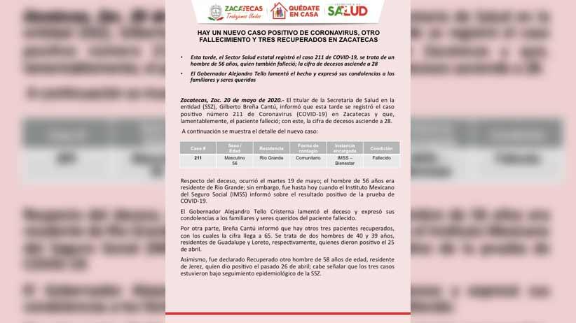 Video: #Quédateencasa; Llamado de los alcaldes del Estado de Zacatecas.